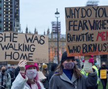 London,,Uk,,March,14,2021,,Thousands,Of,People,Gathered,To